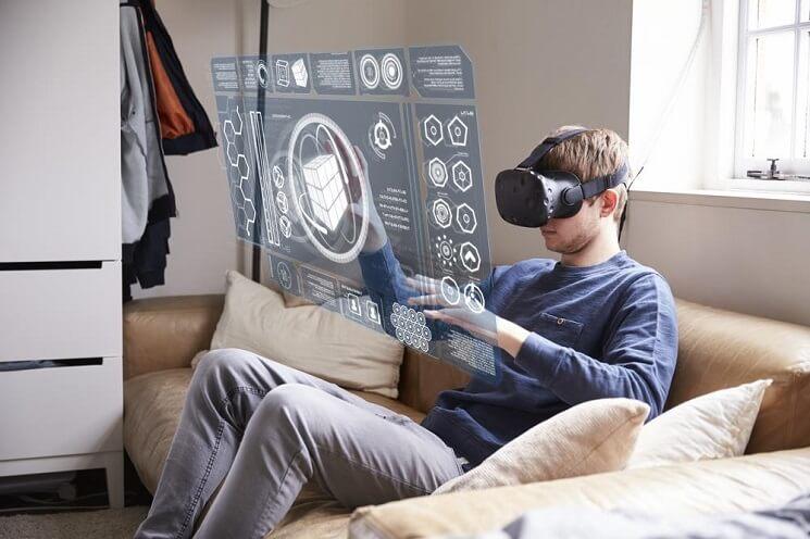 realidade aumentada com oculos